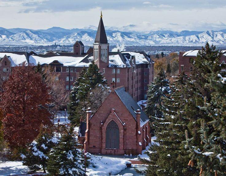 University of Denver in winter . . . BEAUTIFUL!