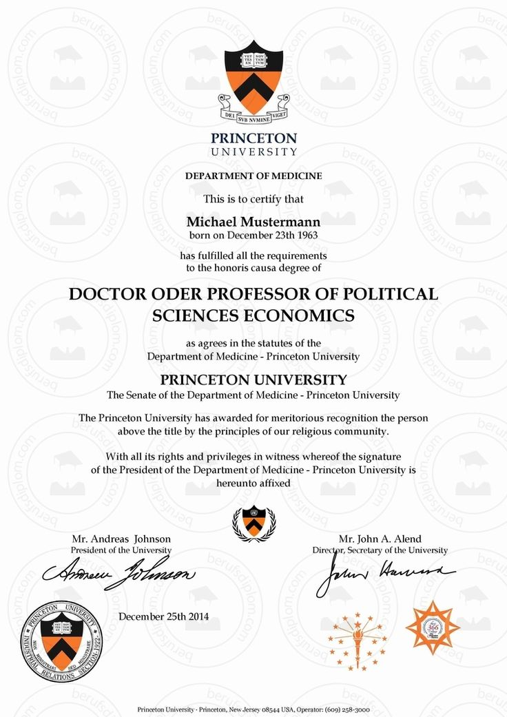 Doktortitel Princeton University (Dr. h. c.), (Prof. h. c.) kaufen! Prof. Dr. h.c Titel kaufen, Titel kaufen, Doktor werden, h.c., Dr. h.c., Prof. h.c., Dr hc kaufen, Prof. Doktortitel Princeton online kaufen | Urkunde in nur wenigen Minuten als hochauflösendes PDF zum Download Doktortitel kaufen von teuerste Universität der Welt: Princeton University, Ehrendoktor (Dr. h. c.), Ehrenprofessor (Prof. h. c.), (Prof. Dr. h. c.) ► Reproduktion einer Promotionsurkunde mit individuellem Doktortitel…