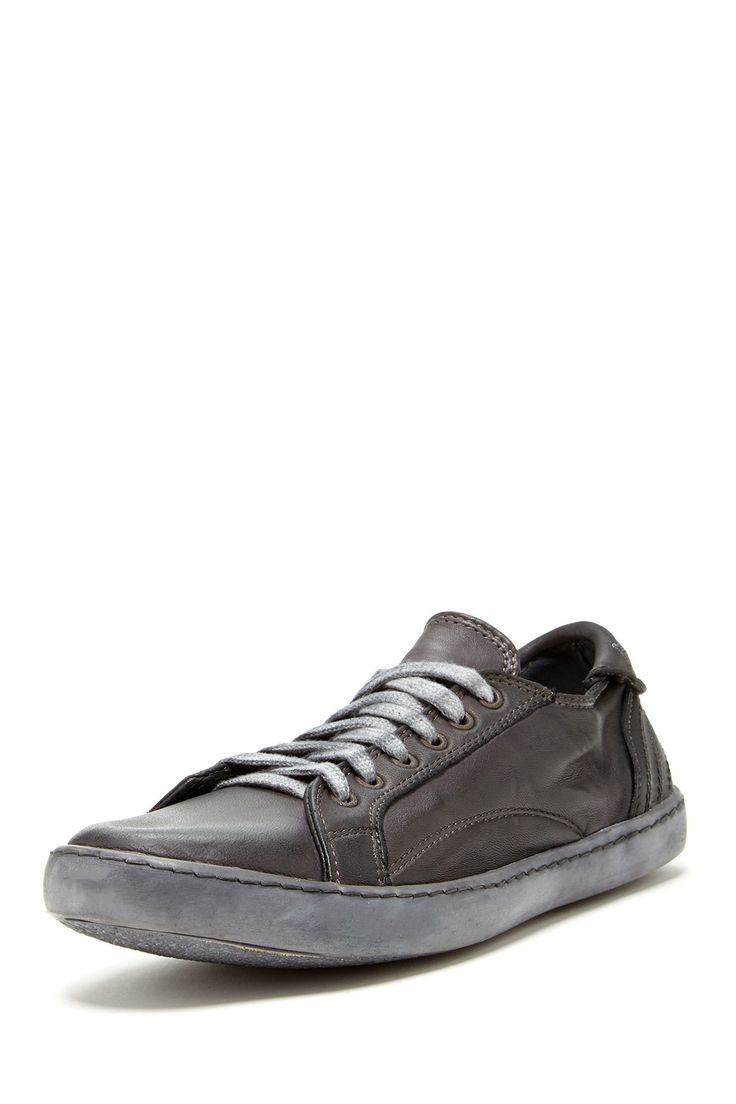 De Filippis Low Nappa Sneaker in pece by Pantofola d'Oro Italy $380 - $65  @HauteLook. - Round toe - Lace-up vamp - Flat laces - Embroidered logo  detail ...