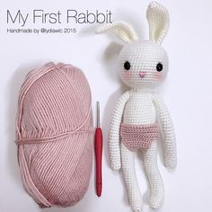 My crochet animal @ Rabbit