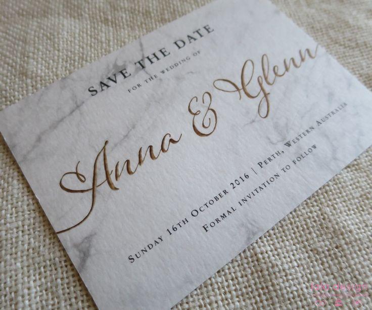Anna & Glenn Save The Date