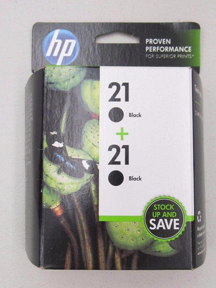 HP 21 Black+21 Black Twin Pack Ink Cartridges #HP