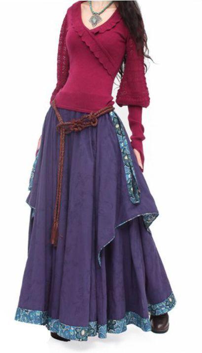 С чем носить длинные юбки. - Ярмарка Мастеров - ручная работа, handmade
