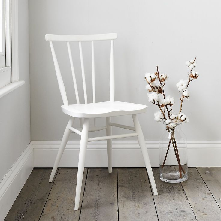 Ercol All Purpose Chair - White  from The White Company