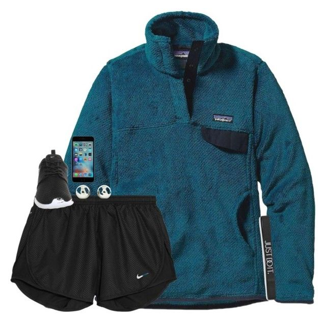"""I am so full right now."" by mac-moses ❤ liked on Polyvore featuring Patagonia, NIKE and Tiffany & Co."