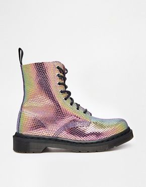 Dr Martens Core Pascal Mirror Shift 8-Eye Boots