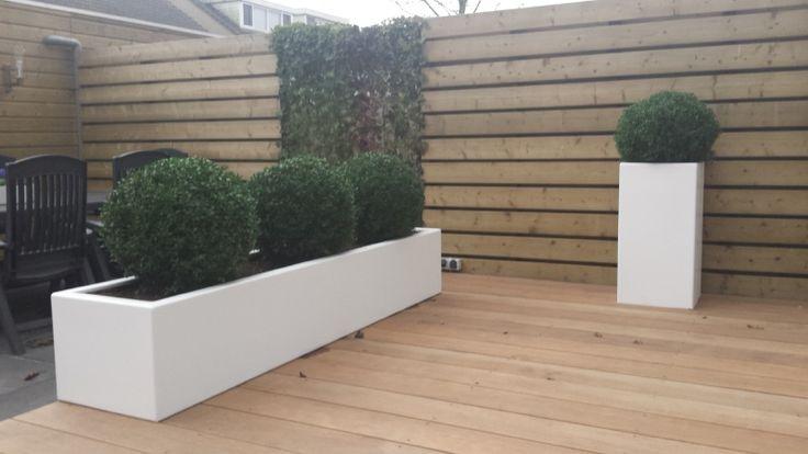 Polyester plantenbak 2300x500x400