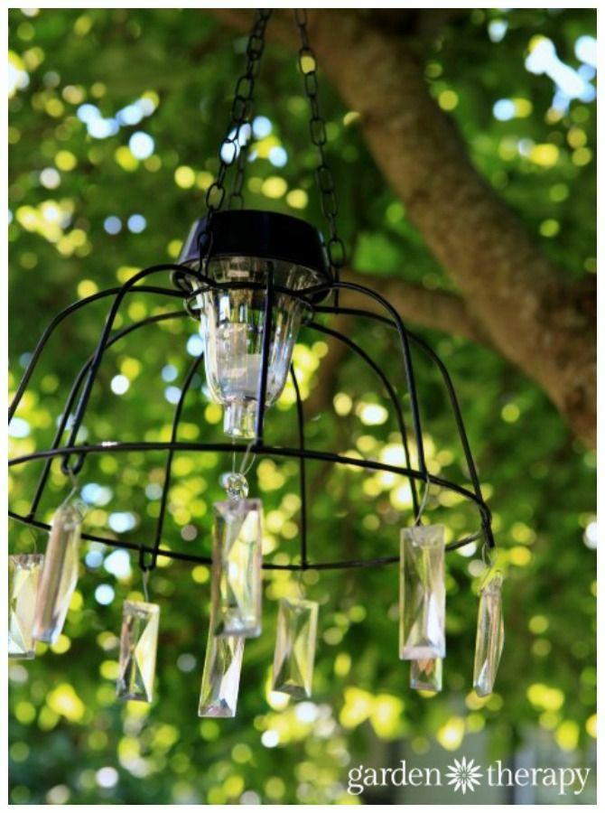 Diy Solar Light Craft Ideas For Home And Garden Lighting Solar Lights Garden Solar Light Chandelier Solar Lights Diy