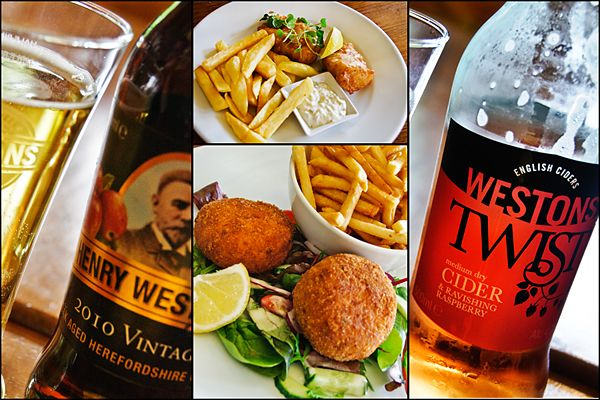 Westons Cider - Tour, Eat and Drink in Herefordshire, England via CheeseWeb