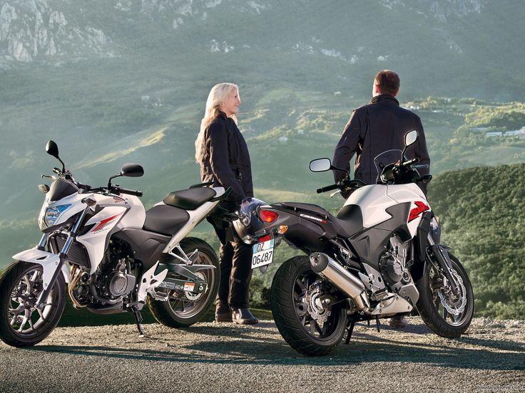 Honda CB500X Montain Wallpapers