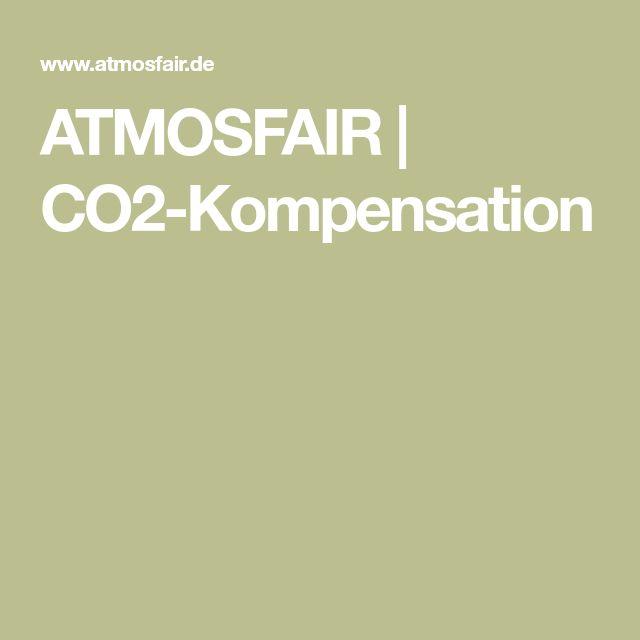 ATMOSFAIR | CO2-Kompensation