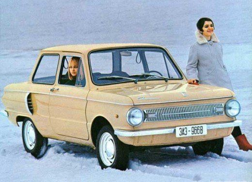 ZAZ - Zaporizhia Automobile - Soviet car ad