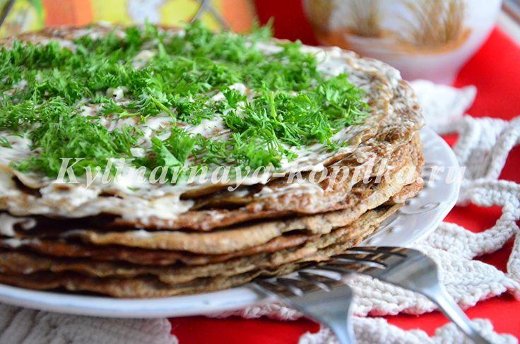 Печеночный торт из говяжьей печени: рецепт пошагово с фото