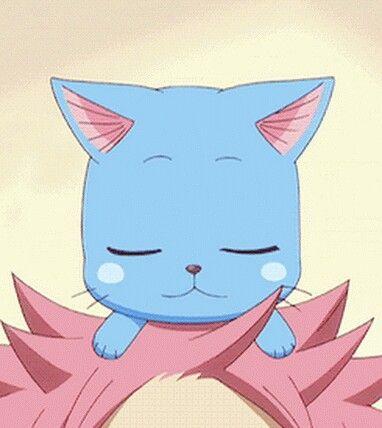Fairy tail, cute, Happy <3