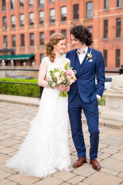 Le mariage DIY d'Amélie et Dany à l'Espace Canal