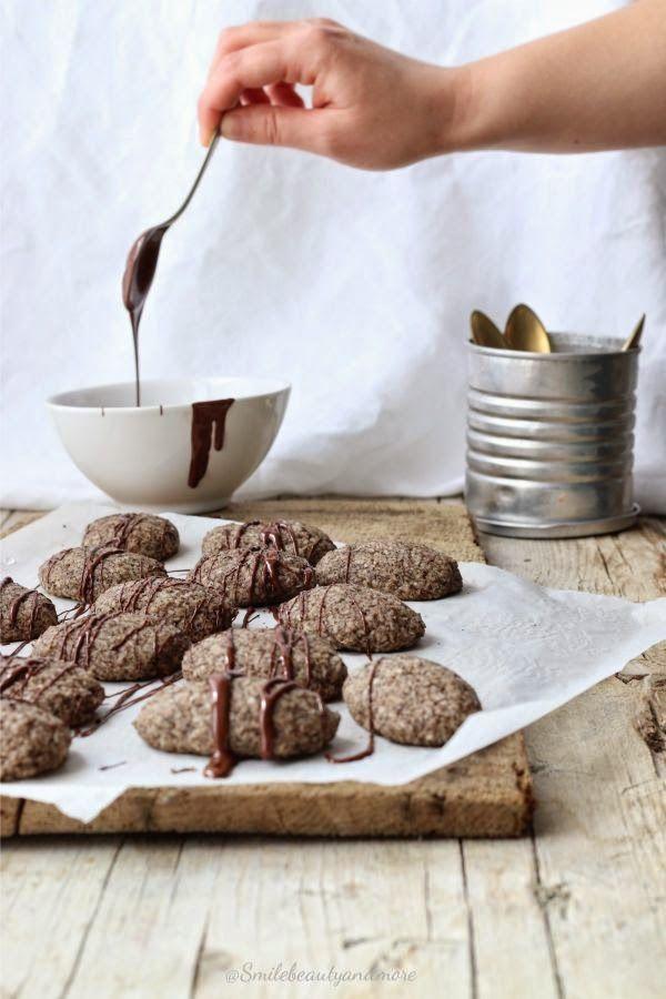 Biscotti al cocco e grano saraceno