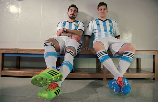 @adidas Reveal #Argentina 2014 World Cup Kit  #Kit #Messi