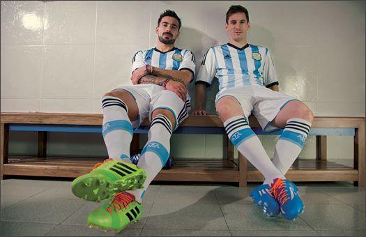 @adidas Reveal #Argentina 2014 World Cup Kit  #Kit #Messi
