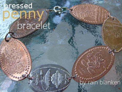 Make a Pressed Penny Bracelet - Penny Bracelet Tutorial
