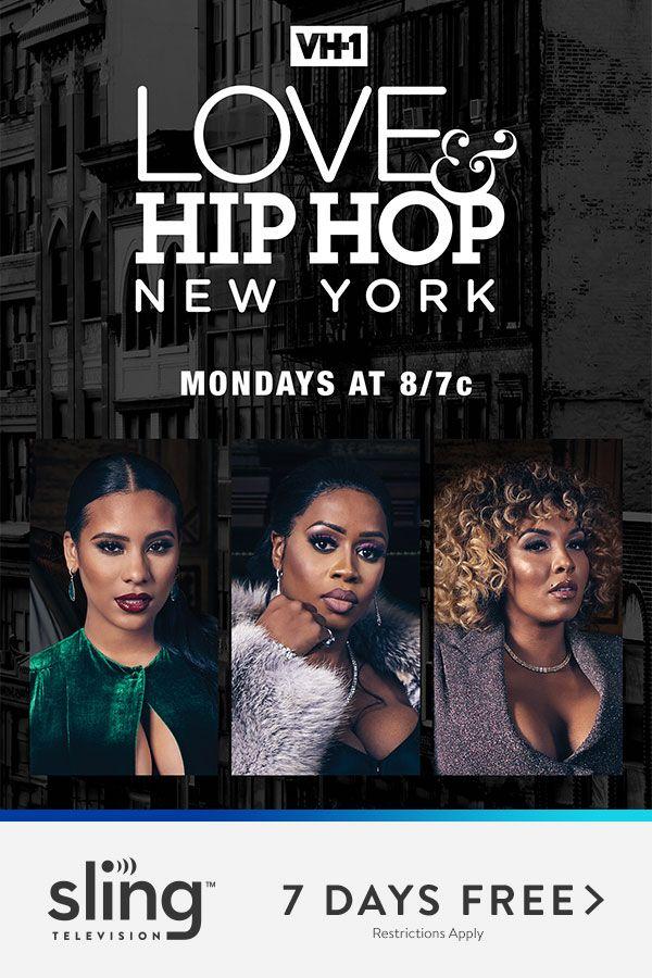 Watch Love & Hip Hop New York Mondays 8pm ET on VH1 | Sling