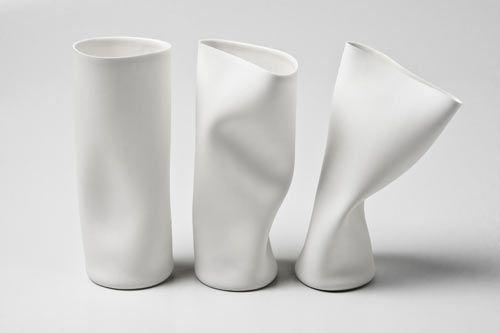 "Quentin de Coster's ""Indiscipline"" makes porcelain look like flexible #packaging. @D_Pittman_PPW #Art"
