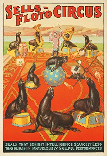 18 best vintage circus posters images on pinterest for Circus posters free