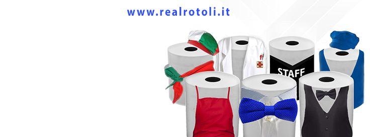 Idea e progettazione grafica per Real Rotoli