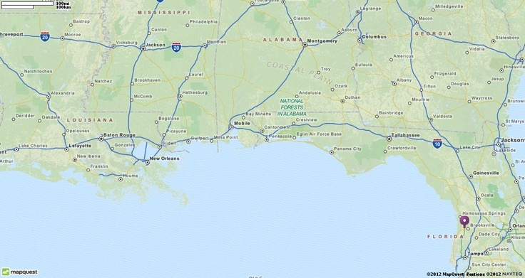 Official Mapquest Maps Driving Directions Live Traffic >> Map of Florida | MapQuest