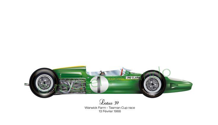 Lotus 39 - Warwick Farm - Tasmania series -1966