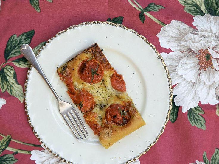 Petite Kitchen's Potato and Rosemary Focaccia Recipe - Try this delicious recipe from Eleanor Ozich