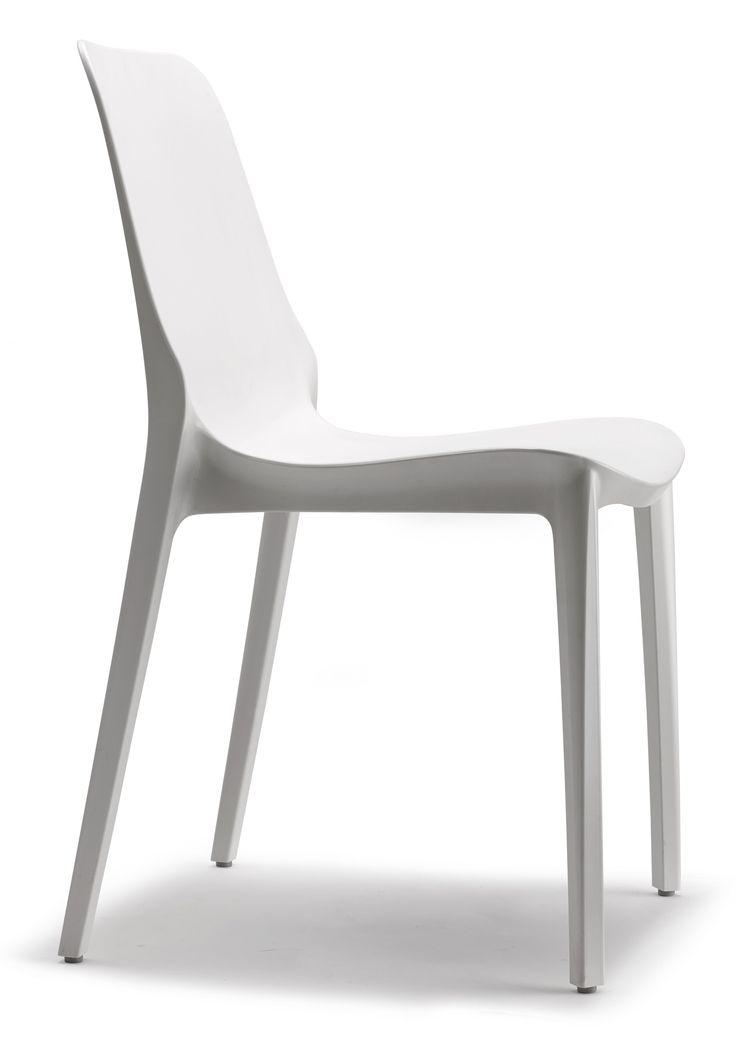 Ginevra stoel wit - Scab Design