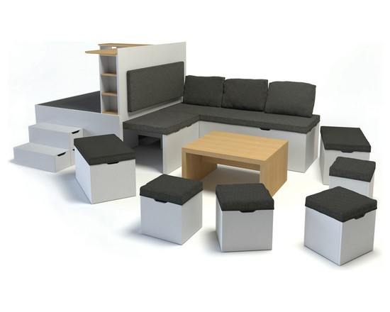 Mobilier modulable - by Matroshka Furniture's Design
