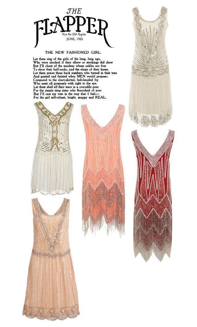 1920's Flapper by movielover101 on Polyvore featuring Miss Selfridge