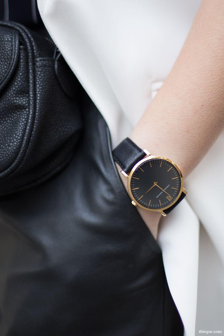 Larsson & Jennings watch | Minimal + Chic | @CO DE + / F_ORM