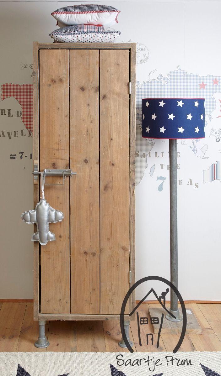 1-deurs kast van de Combi-Kast? De leukste Kasten & Kisten voor de kinderkamer bij Saartje Prum.