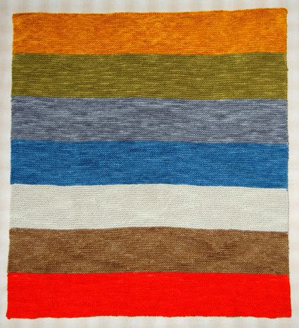 Super Easy Baby Blanket - the purl bee  I wish I had the time to dedicate!!! Gorgeous!!!