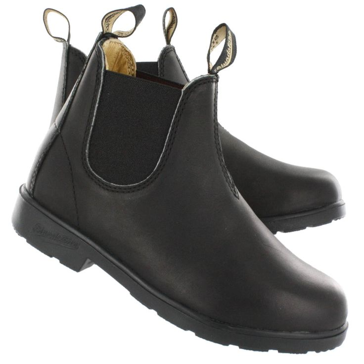 Blundstone Kids' BLUNNIES black pull-on boots - UK SIZING 531-BLUNNIES-A