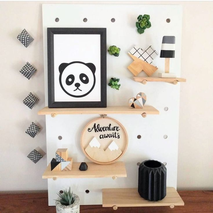All the monochrome feels right here! Our scandi wooden mountain adventure awaits hoop art looks right at home. Order yours today. Customise colours and wording (painted or hand embroidered).