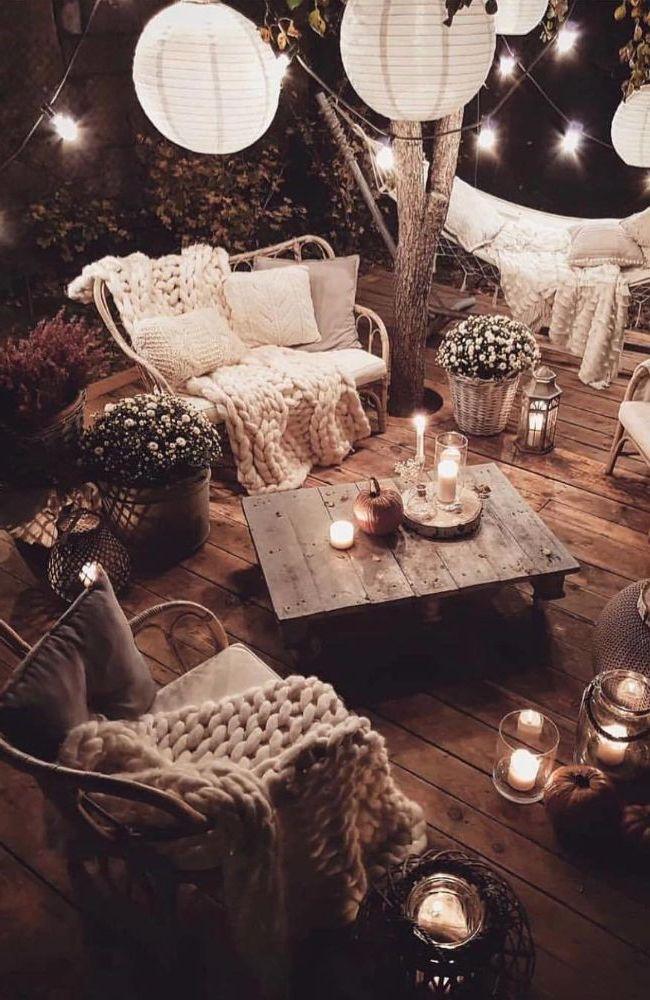 Hygge-style garden lounges #deko #dekoration #Deko…