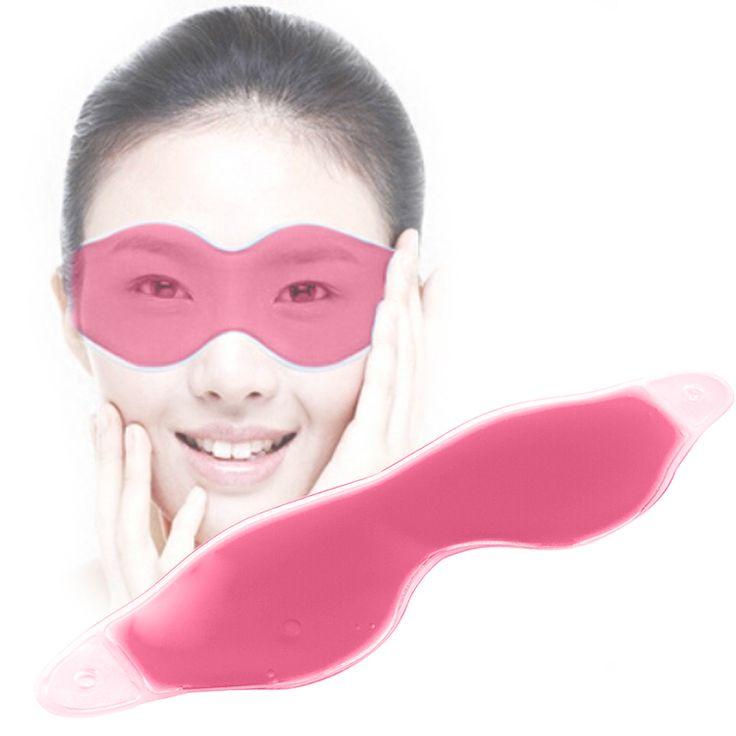 Comfortable Ice Eyeshade Compress Gel Eye Care Tool Summer Sleep Mask Natural Sleeping Blindfold Cover Shade Eye Patch Eyeshades