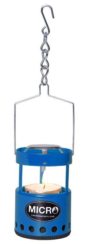 Mini Φανάρι Με Κερί UCO Αλουμινίου Μπλε   www.lightgear.gr