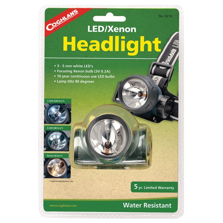 Coghlans 210 LED/Xenon Headlight