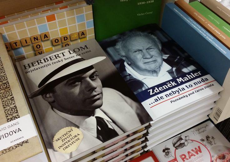 Životopis Herberta Loma v novinkách knihkupectví Kosmas