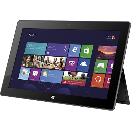 I want this for my birthday - Windows Surface tablet. $499 + $199 for the keyboard attachment.