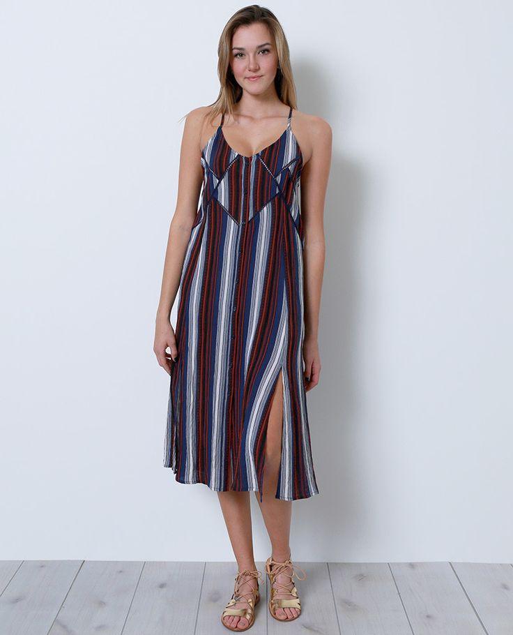 Caroline Midi Dress - Multi Print