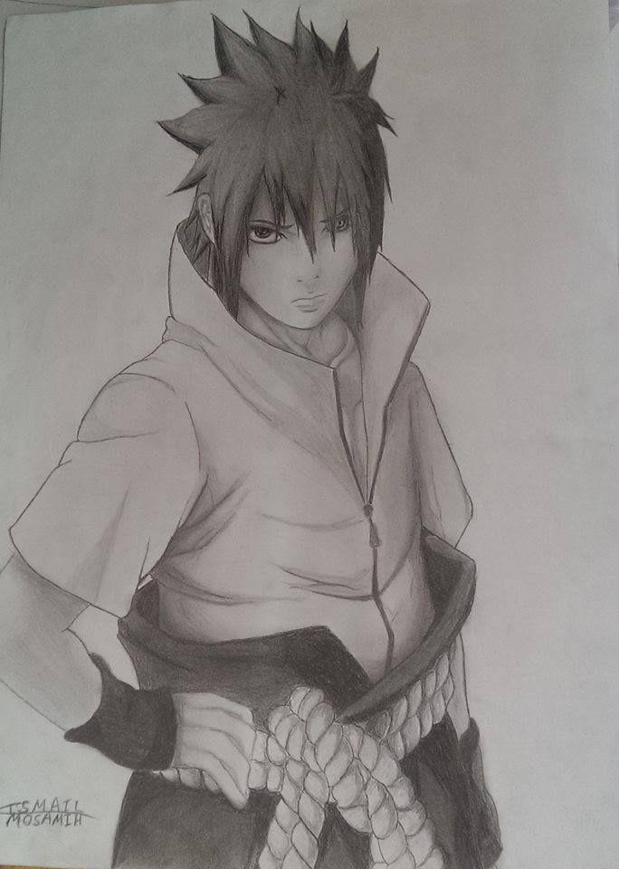 sasuke uchiha  with ringan