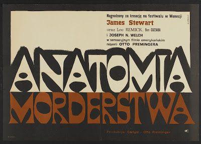 Anathomy of a Murder, 1959 Polish Title: Anatomia morderstwa Author: Wiktor Gorka, 1961