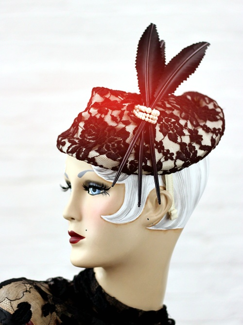 Exquisite headwear for all occasions www.saratiara.com