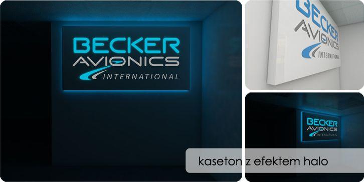 kaseton z oświetleniem tworzącym efekt halo (www.cpr.pl)
