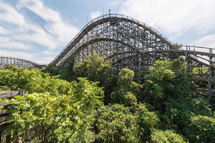 Abandoned Amusement Park Photography – Fubiz Media
